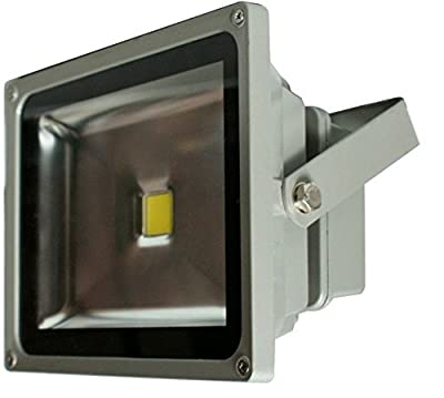 LedChoice 30W Watt LED Pure White Flood Spot Light Outdoor Garden Landscape Lamp Bulb Spotlight Security Floodlight Home Waterproof High Power 85-265V