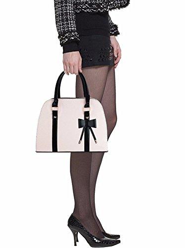Noir Femme à Porter à beige Sac pour l'épaule Noir BMKWSG q4Awa8Eg