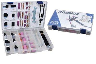Radnor Model AK-150 TIG Accessory Kit For 150 Amp Modular Flex Torch