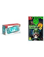 Nintendo Switch Lite - Turquoise + Luigi's Mansion 3 Standard Edition