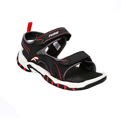 FURO Men's Black Fashion Sandal