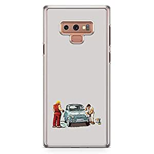 Loud Universe Car Funny Street fighter Samsung Note 9 Case Funny Ken and Ryu Samsung Note 9 Cover with Transparent Edges