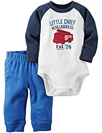 Carter's Baby Boys' 2 Piece Stripe Set (Baby)