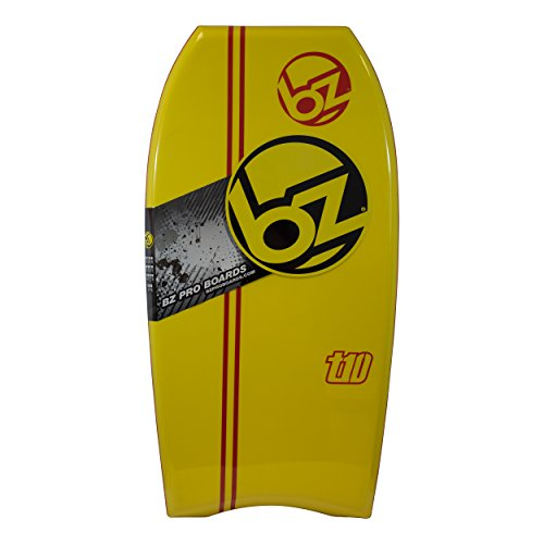 """BZ T-10 Bodyboard (Yellow, 42"""")"""
