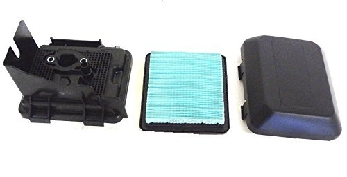 17211-ZL8-023 & 17231-Z0L-050 & 17220-ZM0-030 Genuine Honda OEM Air Filter Assembly: Filter, Case, Cover for GCV135, GCV160, GCV190, GSV190