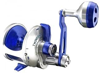 product image for Accurate Valiant BV2-600L Reel - Left-Handed - Blue/Silver