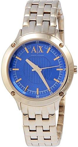(AX5418 Armani Exchange Gold-Tone Ladies Watch)