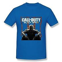 HUBA Men's T Shirt Call Of Duty Black Ops III 2 Black