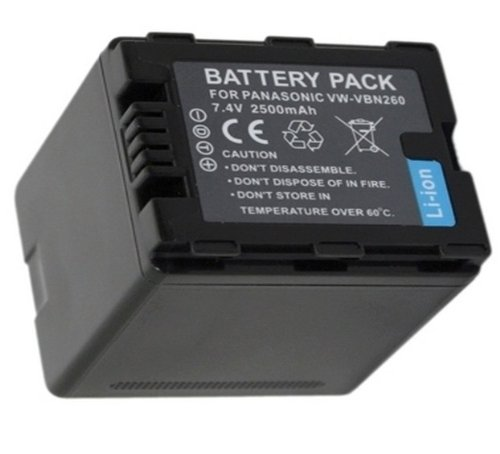 Lithium Ion Rechargeable Battery pack for Panasonic VW-VB...