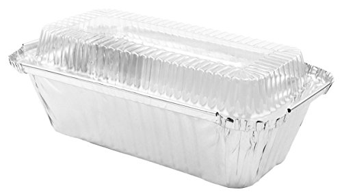 "Disposable Foil Baking Tins 7-1/4"" x 3-1/2"" x 2"" for Bread/L"