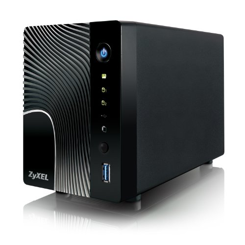 ZyXEL 2-Bay High-Performance Digital Media Server and Network Attached Storage (NSA325) (Digital Media Server compare prices)