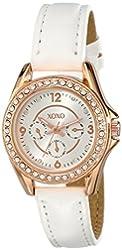 XOXO Women's XO3402 Analog Display Analog Quartz White Watch