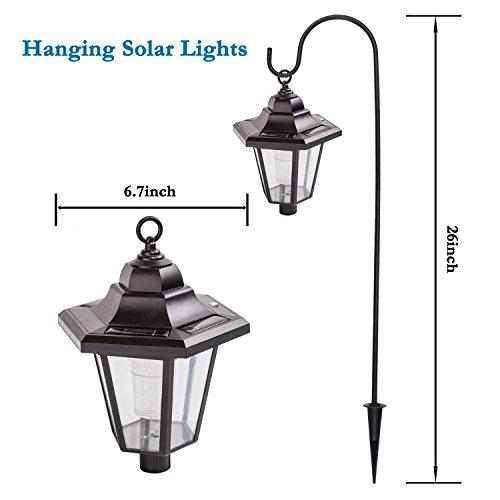 Gigalumi 26 inch solar lights outdoor hanging solar coach lantern gigalumi 26 inch solar lights outdoor hanging solar workwithnaturefo