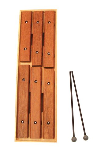 Sonor ''Walking'' Xylophone, with 6 Fixed Rosewood Bars