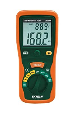 Extech Instruments Earth Ground Tester with Nist