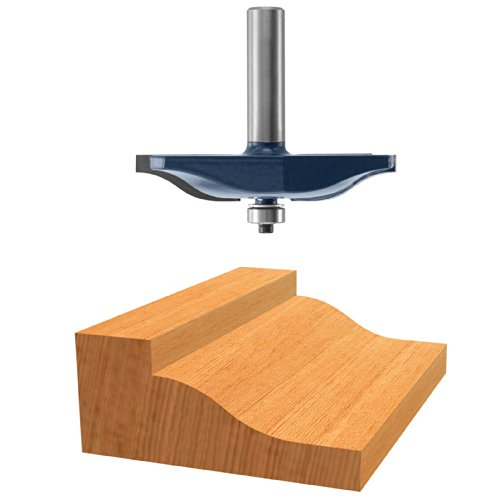 Bosch 85638M 2-1/2 In. x 5/8 In. Carbide Tipped Ogee Raised Panel ()