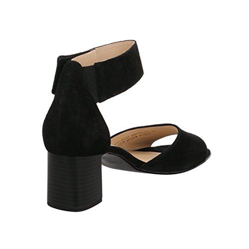 65 Black Heeled 800 Gabor Hoochie Sandal CqOvt