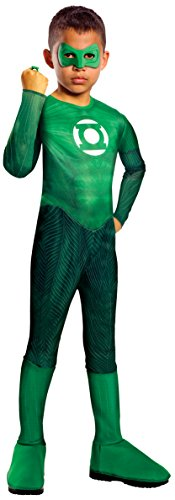 Green Lantern Child Costumes (Green Lantern Child's Hal Jordan Costume - One Color - Large)
