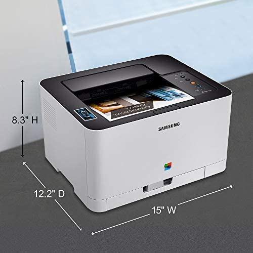 Samsung Xpress C430W Wireless Color Laser Printer with Simple NFC + WiFi Connectivity and Built-in Ethernet, Amazon Dash Replenishment Enabled ...