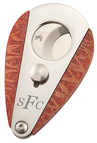 Personalized Xikar Xi3 Apple Coral Double Guillotine Cigar Cutter by Visol