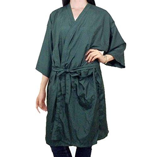 Mythus Spa Massage Kimono Hairdressing Cut Gowns Kimono Robe Salon Client Cape