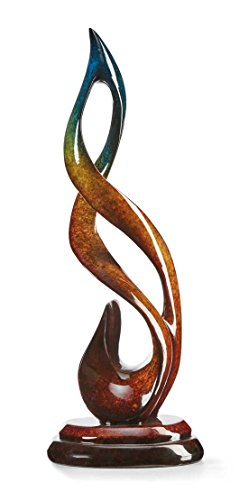 Wild Wings Jubilation - Music Note - Small Imago Sculpture by Lawrence Oliver