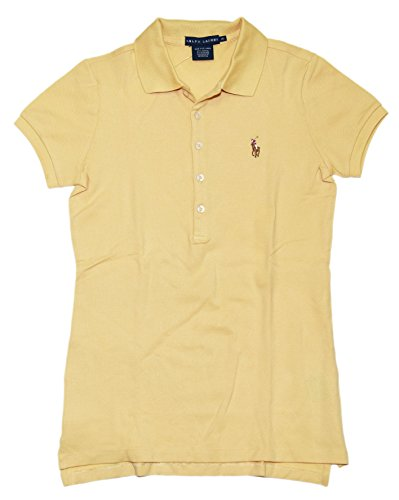 Ralph Lauren Women Slim Fit Pony Logo Polo T-Shirt (XL, Cape - Ralph Cape Lauren