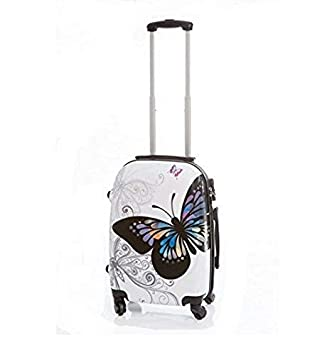 Maleta Pequeña mariposas 55x40x23 cm
