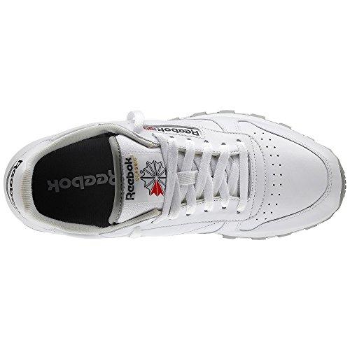 Reebok Mens Cl Lthr Fashion Sneaker White_whi