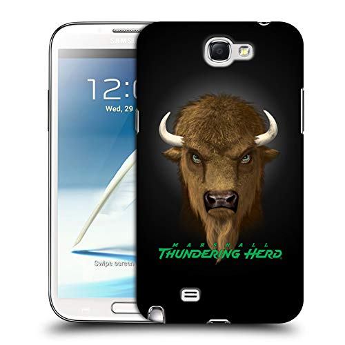 (Official Vincent HIE Marshall University Collegiate Varsity Hard Back Case Compatible for Samsung Galaxy Note 2 II N7100)