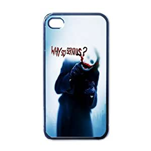 Joker Vol.2 Cool Black Iphone For Apple Iphone 4/4S Case Cover Unique Style