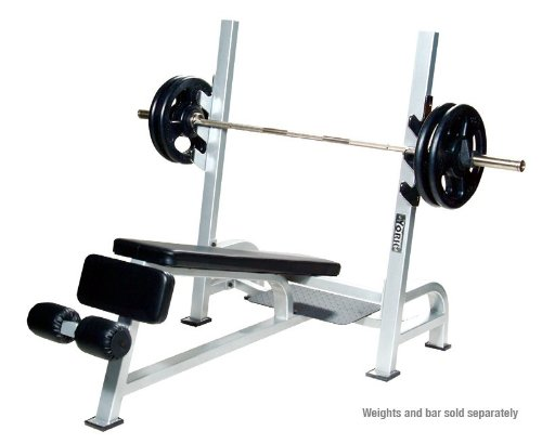York Olympic Decline Bench With Gun Racks (Commercial)