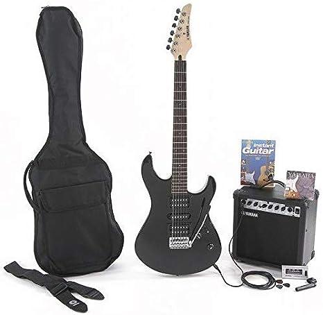 Yamaha S – Set completo de guitarra eléctrica: Amazon.es: Instrumentos musicales