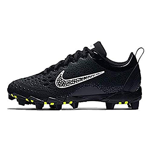 NIKE Women's Hyperdiamond 2 Keystone Softball Cleat Black/White/Anthracite Size 7 M US