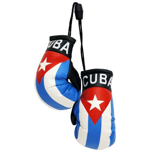 flagsandsouvenirs Boxing Gloves CUBA