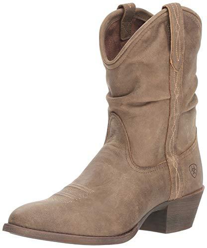 Bomber Ariat - Ariat Women's REINA Boot, brown bomber, 8.5 B US