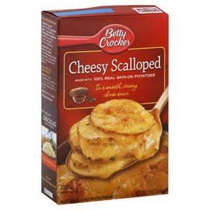 Betty Crocker Cheesy Scalloped Skin-on Potatoes Side Dish Quick 5 Ounce Boxes (2-pack) by Betty Crocker