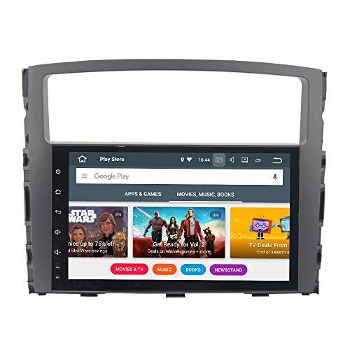 Dasaita Android 8 0 Car Stereo for Mitsubishi Pajero Gps Navigation Radio  with 9 Inch Screen 4G Ram and HDMI Output Head Unit