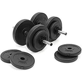 Gallant Unisex's DBS-20KG 20kg Dumbells Set | Adjustab...
