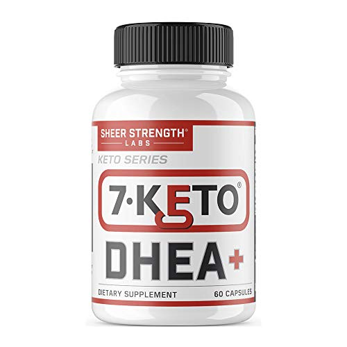 - Extra Strength 7 Keto DHEA 200mg Supplement - for Healthy Weight Management, Building Lean Muscle, and Restoring Youthful Energy Levels in Men and Women, Sheer Strength Labs, 60ct