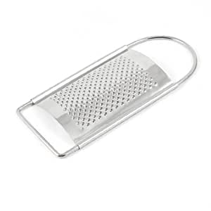 uxcell Kitchenware Stainless Steel Shredded Ginger Flat Grater