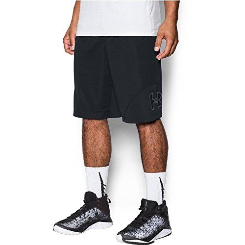 Under Armour Men's Rickter Shorts, Black/Black, Medium
