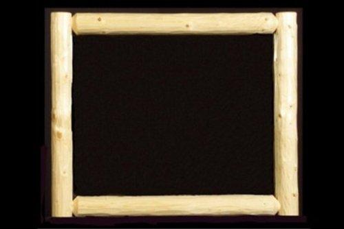(Viking Log Furniture Wilderness Wall Mirror)