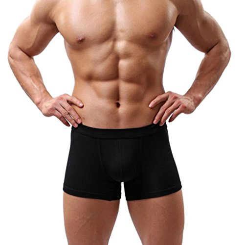 BeautyVan Boxer Soft Briefs, Fashion Boxer Briefs Shorts Bulge Pouch Soft Underpants (L, - Black Male Naked Pics