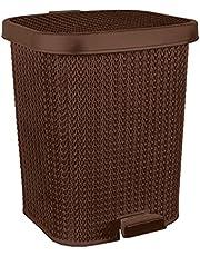 El Helal & El Negma Turt Medium Trash Bin - Brown