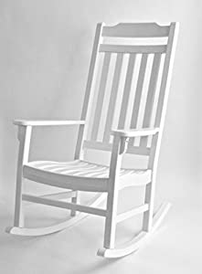 Amazon Com World S Finest Wooden Outdoor Rocking Chair