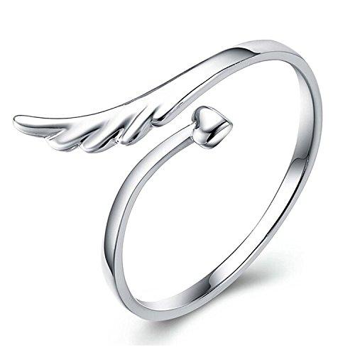angel wings ring - 3