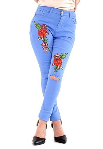 Donna Jeggings Jeans Rewatronics Denim Blue qRPfwE