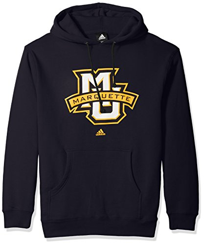 NCAA Marquette Golden Eagles Adult men School Logo Fleece Hood,X-Large,Navy