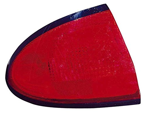Taillight Taillamp Rear Brake Outer Left Driver Side for Sunfire - Pontiac Tail Sunfire